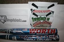 Worth Mayhem Team Drash Warfighter Softball Bat 34 28 NIW ASA SBMWFA Slowpitch