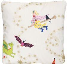 "Hokus Pokus Cushion Cover Liberty Of London White Gold Red Square 16"""