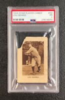 New York Yankees Lou Gehrig 1929 Star Player Candy #32 PSA 1 ***Only 5 Total POP