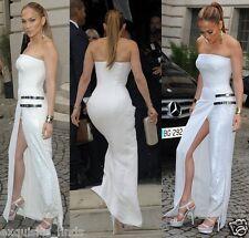 New VERSACE white silk double platform sandals as seen on Jennifer 40 - 10