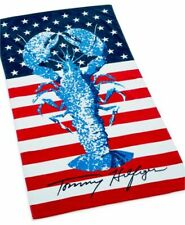Tommy Hilfiger Rock Lobster Beach Towel 35 X 66 100% Cotton New With Tags