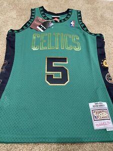 Kevin Garnett Boston Celtics Green Mitchell & Ness Hall of Fame Swingman Jersey