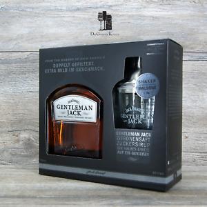 Gentleman Jack Geschenkset & 1x Shaker, Tennessee Whiskey, 0,7l, 40%