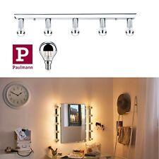 Paulmann LED Spiegelleuchte Regula 5x2,5W Chrom inkl. Leuchtmittel mit Schalter