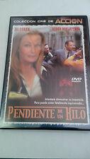 """DVD """"PENDIENTE DE UN HILO"""" ADAM WEISSMAN BO DEREK STEWART BICK COMO NUEVA"""