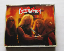 DESTRUCTION Best of JAPAN 1st press 2CD set with 2 Booklets TECP-38446-7 (1990)