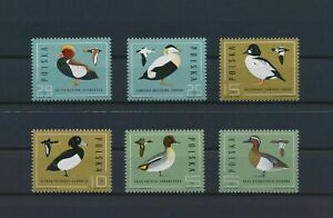 LO57271 Poland 1985 ducks animals fauna birds fine lot MNH