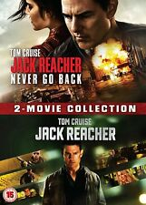 Jack Reacher: 2-Movie Collection [2016] (DVD) Tom Cruise, Cobie Smulders