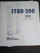 Pratt & Whitney JT8D-200 Line & Base Maintenance Training Guide Manual