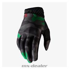 100% Prozent 2020 Ridefit Handschuhe Camo MTB DH MX BMX FR Motocross Enduro Quad