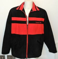 Timberland Black and Red Warm Quilt Lined Jacket. Size L