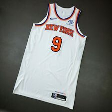 "100% Authentic RJ Barrett Nike Knicks Game Issued Jersey Size 50+6"" Mens"