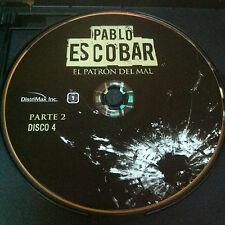 Pablo Escobar parte 2 Disc 4 Replacement Disc DVD ONLY