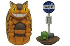 Studio Ghibli My Neighbor Totoro - Cat Bus & Bus Stop Tilting Figure