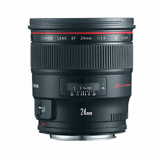 Canon EF 24mm f/1.4L II USM w/FREE Hoya NXT UV Filter *NEW*