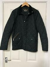 Barbour Black Jacket Size XS Mens Long Sleeve Zipped Quilted Good Cond (D843)
