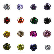 Fashion Jewelry Making Natural Loose Gem Diamond Round 4*4mm Stone VVS Y