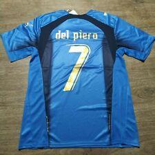 """MAGLIA VINTAGE CALCIO DEL PIERO N°7 MONDIALE ITALIA 2006 TAGLIA """"M"""" MANICA CORTA"""