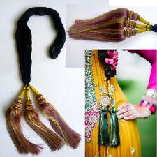 Indian Bollywood Punjabi Multicolor Paranda Parandi Hair Accessory Braid Tassles