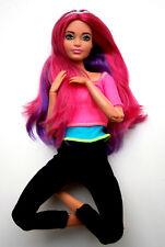 Barbie mattel made to move dreamtopia Doll sirena flexible meermaid Mix a. konvult colección