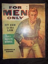 VINTAGE For Men Only Magazine - March 1955 Vol 2 No 3 - GGA Pulp Pinup