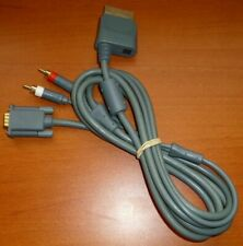 Cable VGA HD AV Third Party, Xbox 360, 480p 720p 1080i 1080p, Dolby Digital 5.1