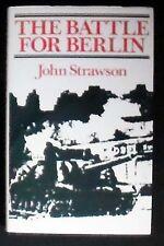 The Battle for Berlin John Strawson HB/DJ 1st American ed. Near Fine/VG+