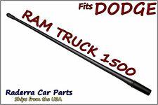 """FITS: 2009-2020 Dodge Ram Truck 1500 - 13"""" SHORT Flexible Rubber Antenna Mast"""
