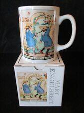 New-Mary Engelbreit Ink Coffee Tea Mug Cup Pals Girls Friends Braids-Orig. Box