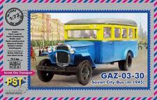 PST 1/72 GAZ-03-30 Soviétique CITY BUS (M.1945) #72083