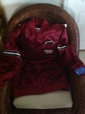 Starter MIAMI HEAT NBA RED  JACKET ANEW  SIZE 2XL MEN