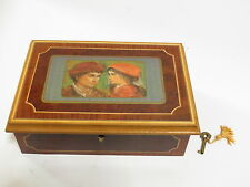 * Reuge Spring Song Italian Jewelry Musical Box *