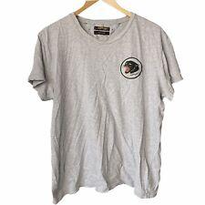 Men's Ed Hardy grey panther t shirt Size large