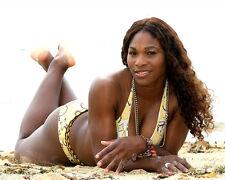 Serena Williams UNSIGNED photo - B276 - SEXY!!!!