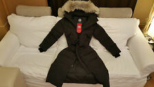 NEW RED LABEL EDITION 100% LADY NAVY BLUE CANADA GOOSE MYSTIQUE LG PARKA JACKET
