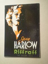 """Jean Harlow ~ Spencer Tracy RIFFRAFF 1936 Movie Poster Magnet 2 X 3"""""""