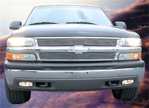 For 1999-2006 Chevrolet Tahoe Silverado 1500 T-rex Billet Series Grille Overlay