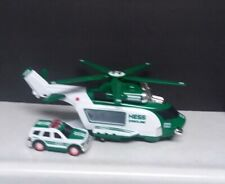 2012 Hess Gasoline Helicopter / SUV Emergeny Vehicle Collectible Toy.