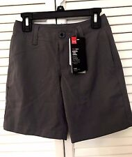 NWT Under Armour 1274401 Boys' Medal Play Golf Shorts Size XS - DK26_Z