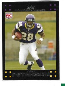 2007 Topps Football Complete 440 Card CT Set LOADED w/Rookie's Adrian Peterson