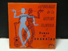 ROMAN EL GRANAINO Anthologie de la guitare flamenco 1 CHANT DU MONDE LDY 4061