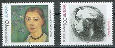 Bund MiNR 1854 + 1855 Europa Berühmte Frauen postfrisch **