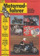 MF9104 + Test TRIUMPH Trophy 1200 + Portrait MÜNCH + Motorradfahrer 4/1991