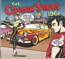 THE CRUISIN STORY 1961 - 2 CD BOX SET - BLUE MOON, CANDY MAN & MORE