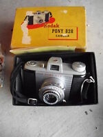 Vintage Kodak Pony 828 Camera in Box