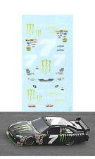 2010 #7 Robbie Gordon Toyota 1/64 scale decal for AFX, Tyco & Lifelike
