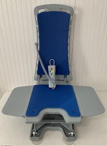 Drive Medical 477150312 BELLAVITA Whisper Ultra Quiet Bath Lift, Blue 308lbs Max