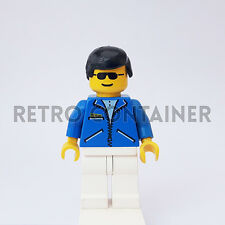 LEGO Minifigures - 1x jbl012 - Man - Jacket Town Omino Minifig 9681 9684 9780