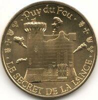 Monnaie de Paris - PUY-DU-FOU - SECRET DE LA LANCE - CHATEAU 2020
