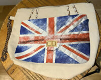 Weekend by Thursday Friday Canvas Britain England Flag Purse Bag